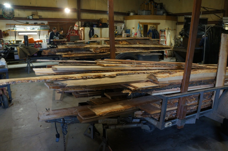Raw wood for projects