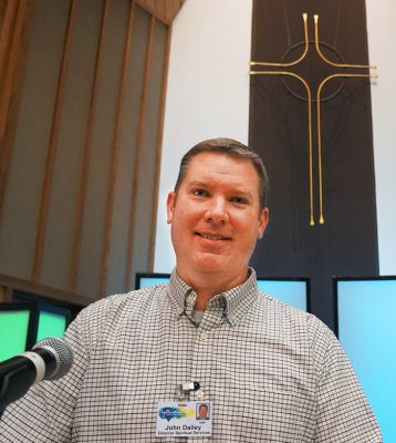 YBGR Spiritual Life Director John Dailey is spearheading the camp.